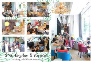 GMC Rhythm & Kitchen Vol.13 GMC錦町 2018年4月22日(日) #親子 #クッキング #live #ブランチ #日曜 @ グッドモーニングカフェ錦町 | 千代田区 | 東京都 | 日本